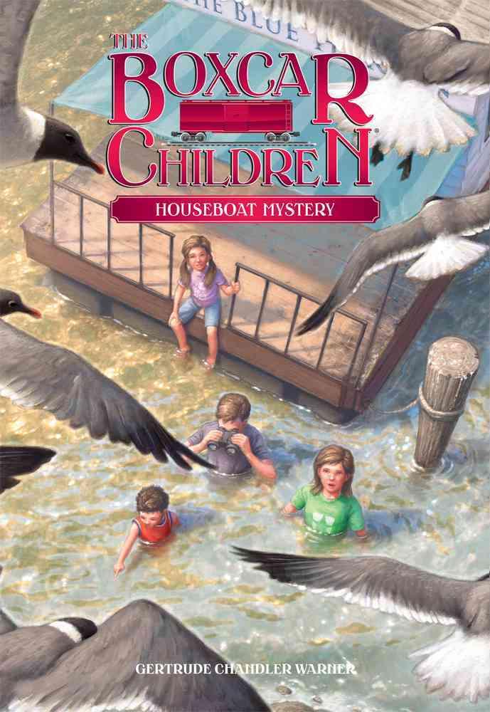 Houseboat Mystery By Warner, Gertrude Chandler/ Cunningham, David (ILT)